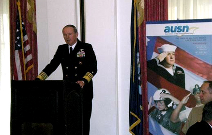 ADM Fitzgerald, EUCOM - AFRICOM at AUSN Navy Now Forum